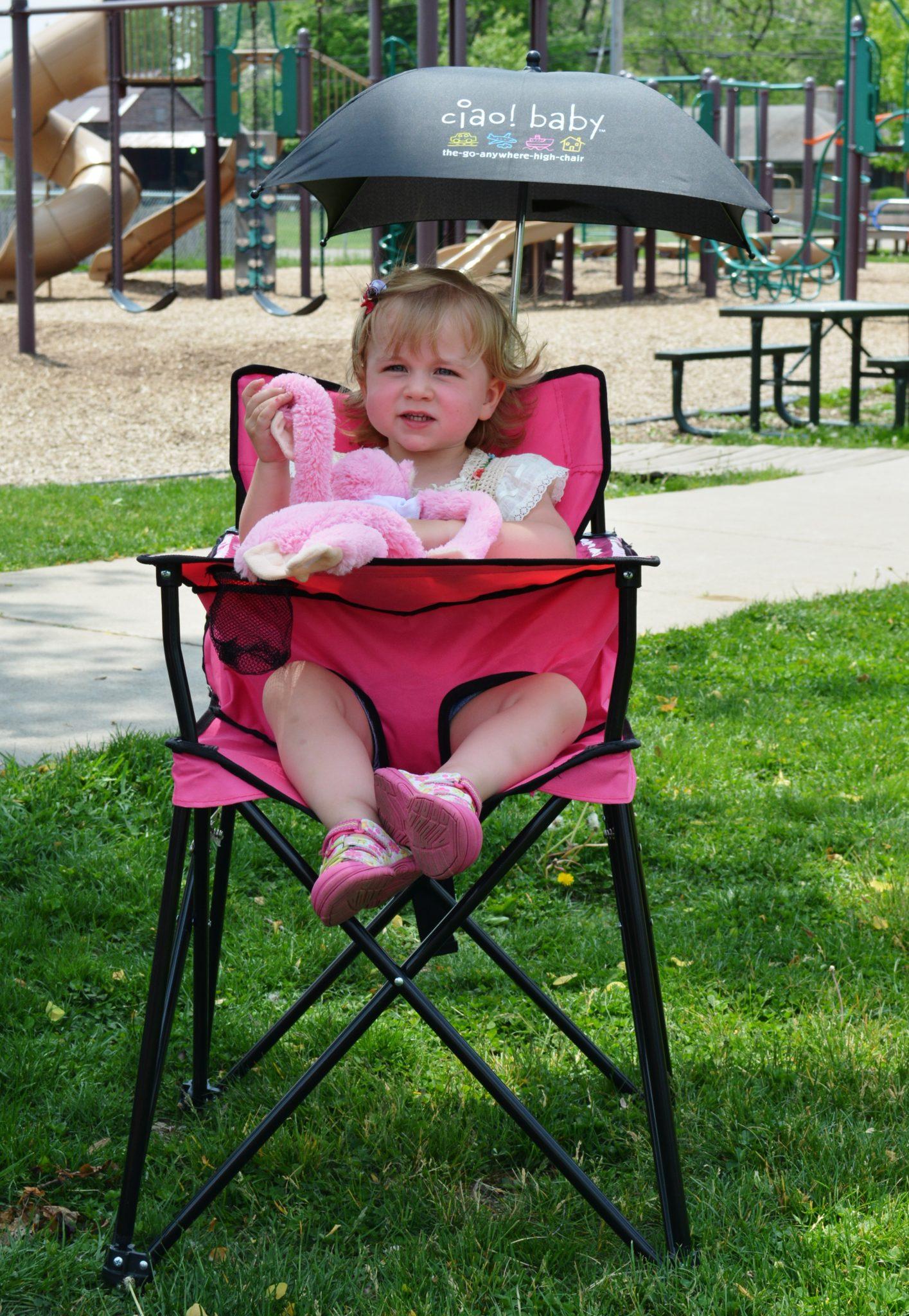Introducing Ciao Baby Umbrella The Portable High Chair